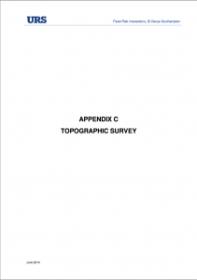 App. C Topographic Survey