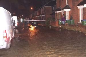 2307 extent of flood