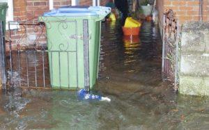 2306 water in alleyway